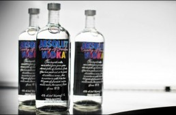Absolut Bottle Celebrates Andy Warhol Pop Art
