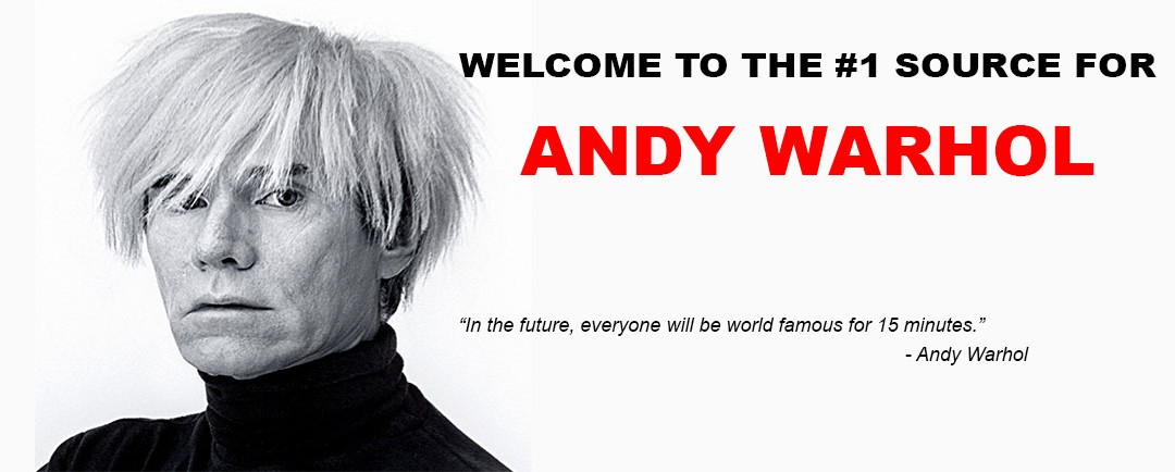 Welcome to I LOVE WARHOL!