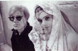 Superstar Edie Sedgwick as Andy's Film Muse