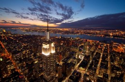Empire State Building Will Glow With Works of Andy Warhol and Georgia O'Keeffe