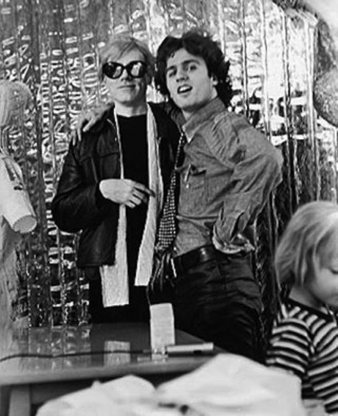 Warhol Gerard Malanga