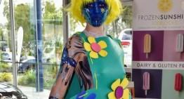 Eumundi's Body Art Festival Goes Flower Power Warhol