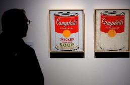 """Campbell's Soup Cans"" (1962) by Andy Warhol"