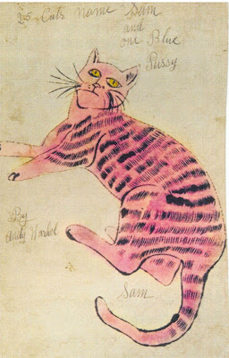 Andy Warhol 25 Cats