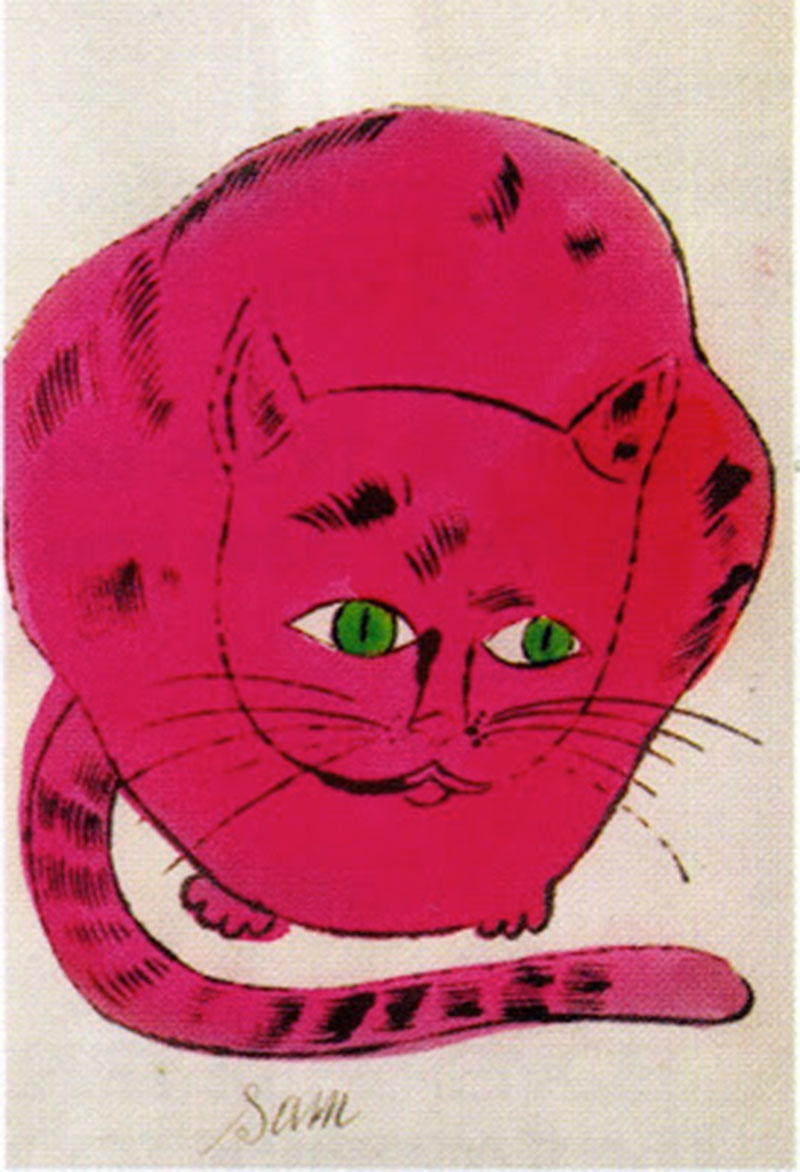 Andy Warhol Cat