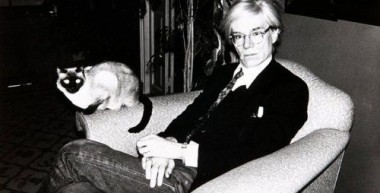 Andy Warhol and 25 Cats