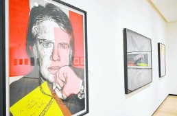 Warhol On View at Jule Collins Smith Museum