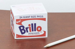 Andy Warhol Brillo Memo Block at Urban Outfitters