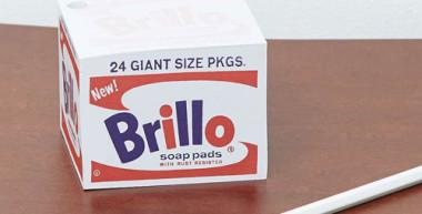 Andy Warhol Brillo Memo Block at Urban Outfitters