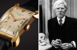 Warhol's Patek Phillippe Watch up for Auction