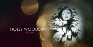Holly Woodlawn recognized at the Oscars
