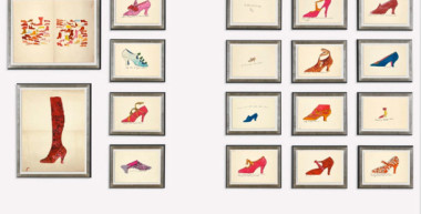 Andy Warhol Shoe Designs Surpass Expectations, Fetch $416K At Auction
