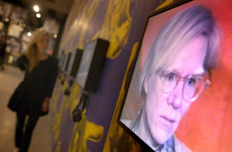 Ukrainian village renames square after Andy Warhol