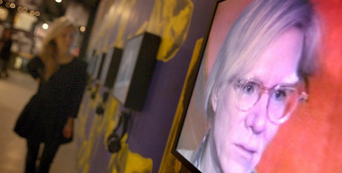 Ukrainian village renames square after Andy Warhol