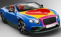 Pop Art Bentley to Raise Money for Charity