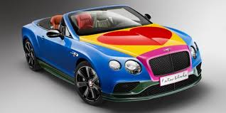 Pop Art Bentley to Raise Money for Charity