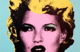 Banksy Exhibition Featuring Andy Warhol Style Art