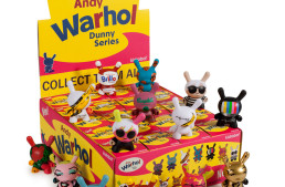 Andy Warhol Paintings On A 3″ Dunny